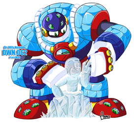 DWN62 Frostman by ApplesRockXP