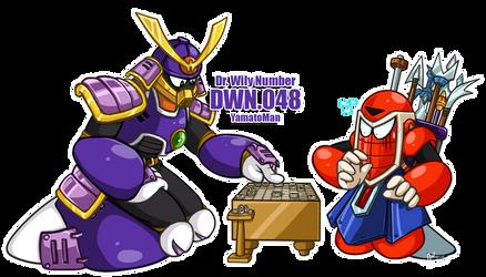 DWN48 Yamatoman by ApplesRockXP
