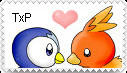 TorchicxPiplup stamp. by Rock-Raider