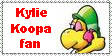 Kylie Koopa fan stamp. by Rock-Raider