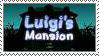Luigi's Mansion Fan Stamp. by Rock-Raider