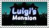Luigi's Mansion Fan Stamp. by Rock-Raider