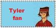 My Tyler Fan Stamp. by Rock-Raider