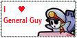 General Guy fan stamp. by Rock-Raider