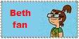 My Beth Fan Stamp. by Rock-Raider