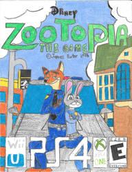 Zootopia video game boxart. by Rock-Raider