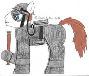 Defendor Ponified. by Rock-Raider