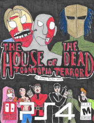 The House Of The Dead: Toontopia Terror Boxart. by Rock-Raider