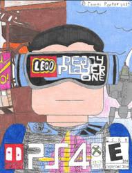 Lego Ready Player One Box Art. by Rock-Raider
