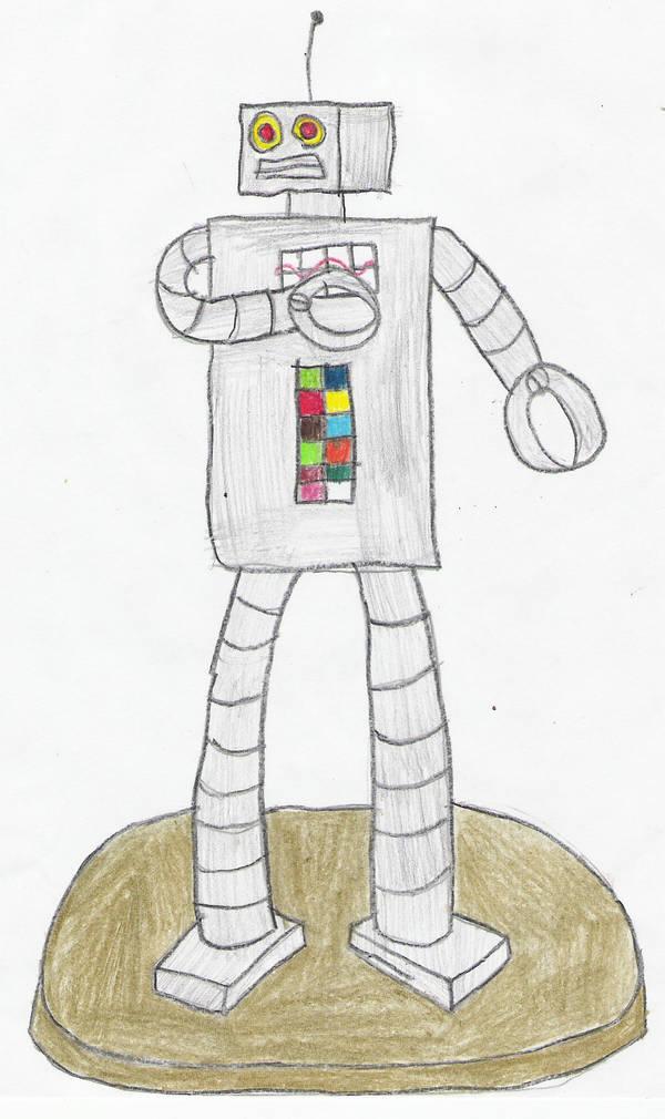 Robot Monument. by Rock-Raider