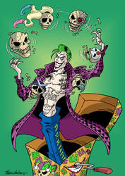 SUICIDE SQUAD : JOKER IN A BOX (Color) by Manthomex