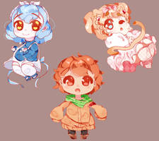 Chubby Cheebs :Commissions Open: by Marritime