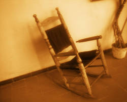 Old rocking chair by REPLOID