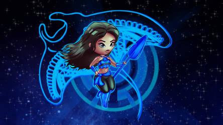 Moana Blue Lantern by REPLOID