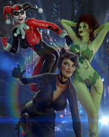 Gotham City Sirens by Zulubean