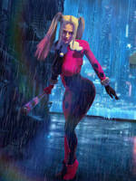 Harley Quinn / Alley Girl by Zulubean