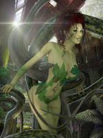 Poison Ivy's Garden by Zulubean