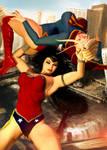 Supergirl vs Wonder Woman (Part 4 of 4) by Zulubean