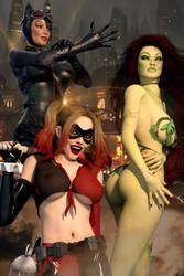 Gotham City Sirens // Girls Rule The World by Zulubean