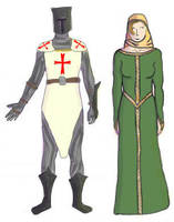 Middle Ages Costumes by SybilThorn