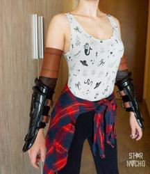 Warchief Sylvanas cosplay - bracers WIP by star-nacho