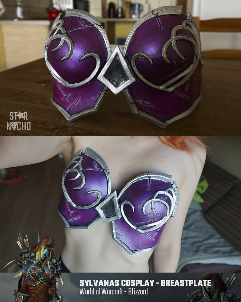 Warchief Sylvanas breastplate painted by star-nacho