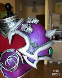Warchief Sylvanas cosplay pauldron by star-nacho