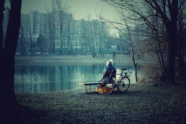 Waiting by PedroKin