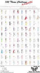 COMPLETE 100 Theme Challenge - FASHION by EratoTiaTuatha