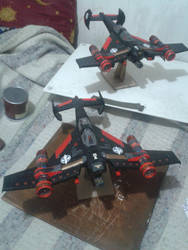 Avenger Strike  finished by RaptecClawtooth