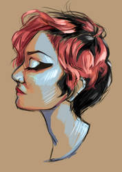 RGD - Pink and Black by CamiiW