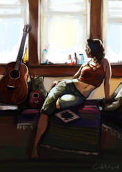Guitar by CamiiW