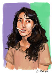 Cigarette by CamiiW