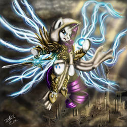TyRarity-Archangel of Generosity by The-Revered-Dragon