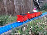 Rusty's Passenger Train by LeScarletSinger