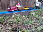 Skarloey's Goods Train by LeScarletSinger