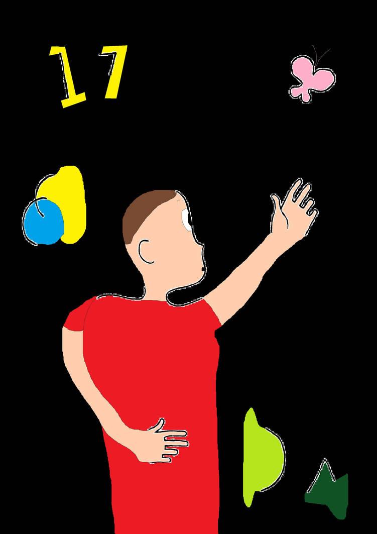 My View of Art (dA Birthday) by LeScarletSinger