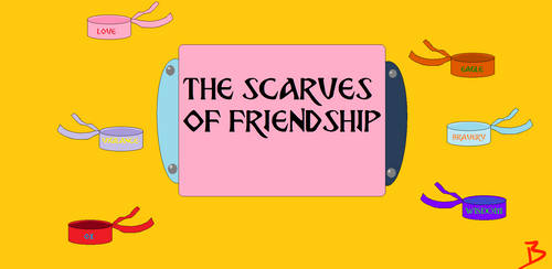 The Scarves of Friendship - Official Logo by LeScarletSinger
