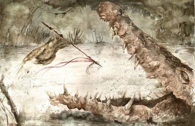 Ribbit rage by AcherontiaDomus