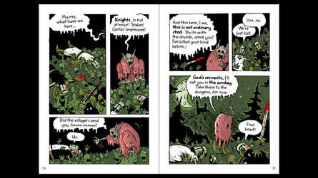 Knights - colours / translation in progress by AcherontiaDomus