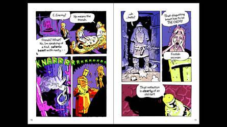 Knights - colours / translation in progress B by AcherontiaDomus