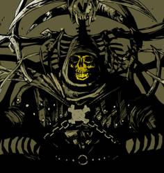 Skeletor by AcherontiaDomus