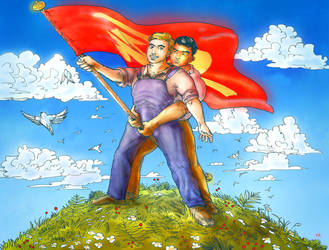Comrades pt.1 by AcherontiaDomus