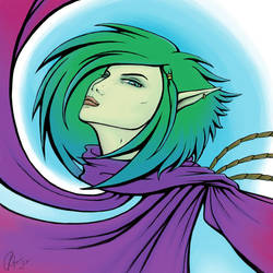 Into the Wind colour by Juhani