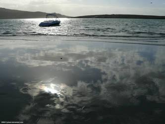Reflective lagoon by Juhani