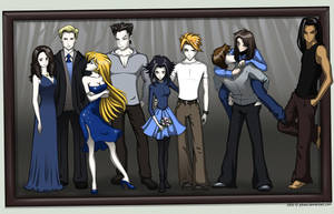 The Cullens Framed by Juhani