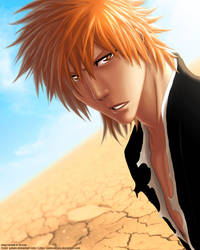 Ichigo in Soul Society by Juhani