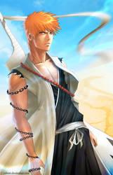Captain Ichigo by Juhani