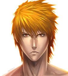Ichigo Portrait by Juhani