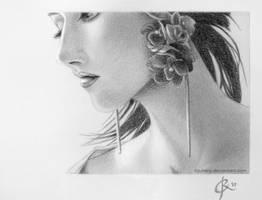Earrings by Juhani